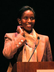 Ayaan Hirsi Ali, courtesy of Tali Yashinski Despins