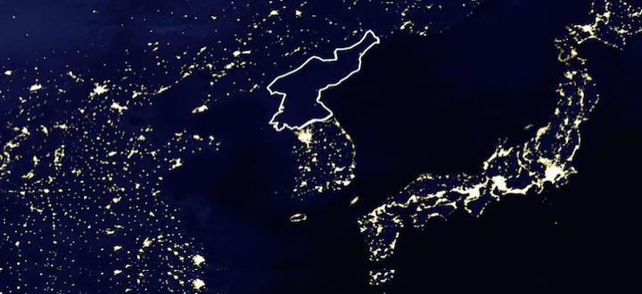 North Korea's Lights