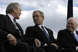 Secretary_Rumsfeld_President_Bush_and_Vice_President_Cheney