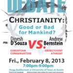 Thank-Yous and Apologies regarding the D'Souza-Bernstein Debate