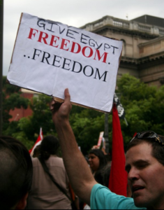 give egypt freedom