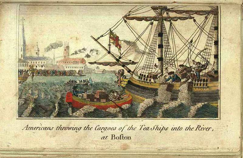 Image result for boston tea party images