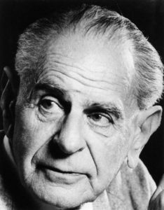 Karl Popper, Wikimedia Commons/a>