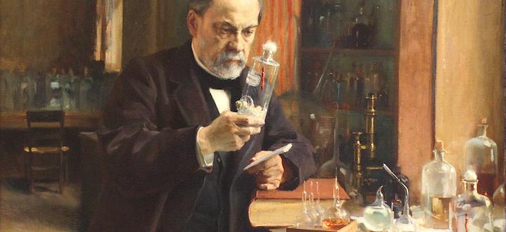 Louis Pasteur, Albert Edelfelt