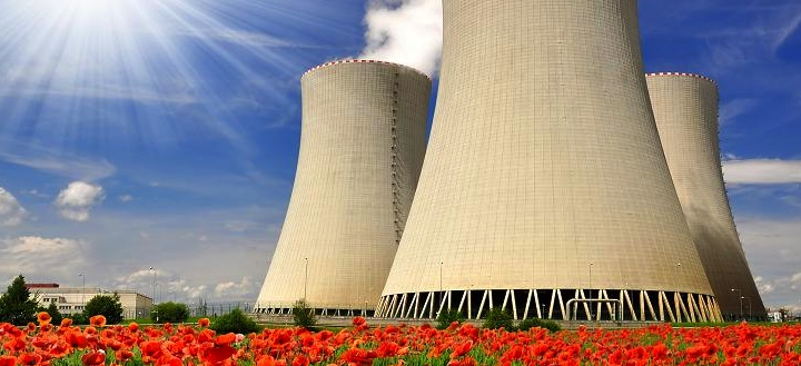 Nuclear Power Plant JPEG—Paid Image