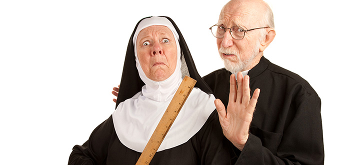 shutterstock-priest-nun