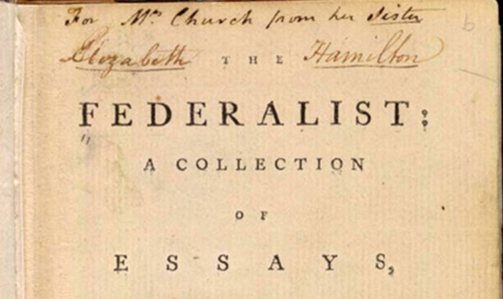the federalist papers brought the u s constitution to life the  the federalist papers brought the u s constitution to life the objective standard