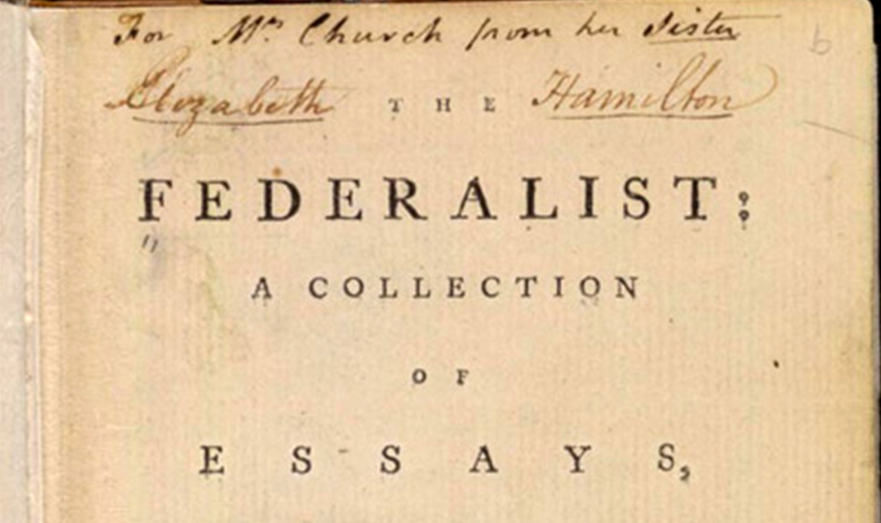 Essays on federalism