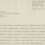 Einstein's Pivotal Letter to FDR
