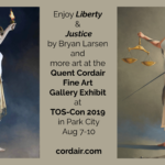 For a Soul-Fueling Experience, Check out Quent Cordair Fine Art at TOS-Con