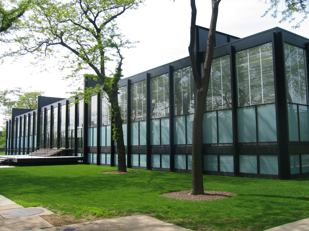 Crown Hall at the Illinois Institute of Technology, Chicago, IL