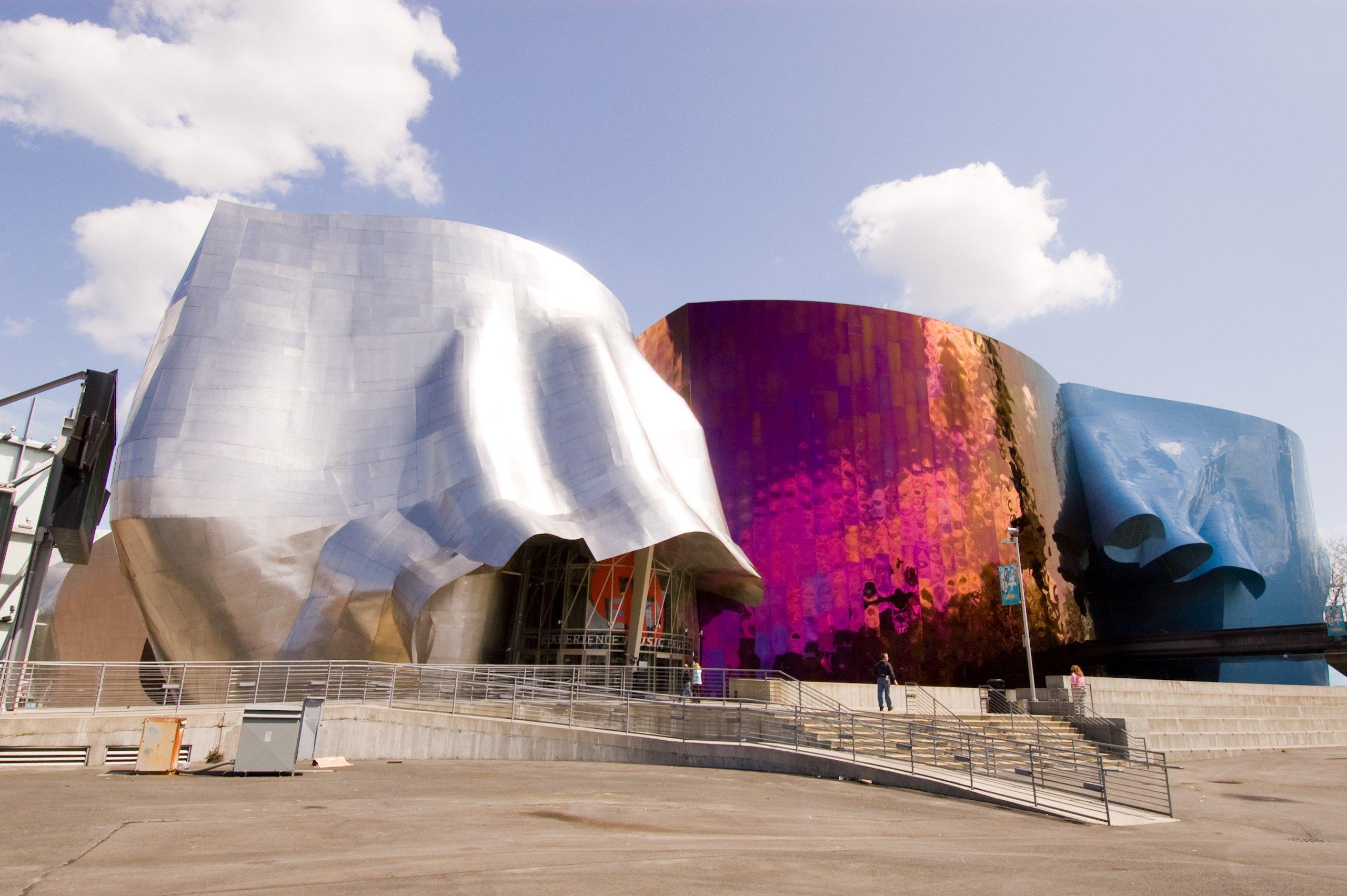 Architecture - EMP Museum, a.k.a. Museum of Pop Culture, Seattle, WA