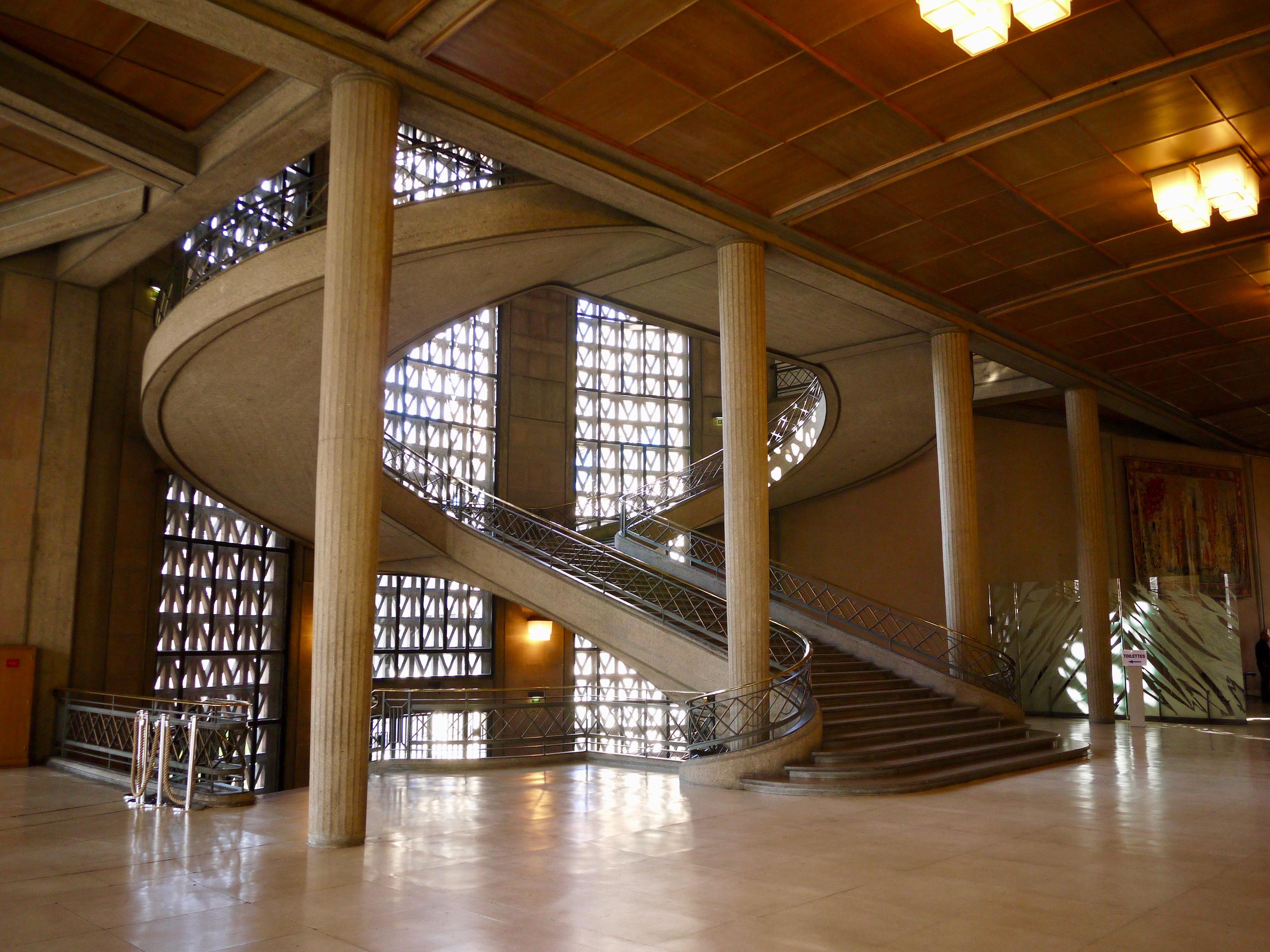 Architecture - Palais d'Iéna, Paris, France