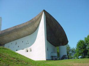 Chapelle Notre Dame du Haut, Ronchamp, France