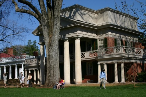 Jefferson's Pavilion X at the University of Virginia