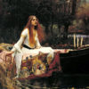"<a href=""https://en.wikipedia.org/wiki/The_Lady_of_Shalott#/media/File:John_William_Waterhouse_-_The_Lady_of_Shalott_-_Google_Art_Project_(derivative_work_-_AutoContrast_edit_in_LCH_space).jpg"" target=""_blank"" rel=""noopener noreferrer""><em>The Lady of Shalott</em> by John William Waterhouse</a>"